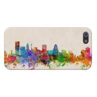Baltimore Maryland Skyline Cityscape iPhone 5/5S Cover