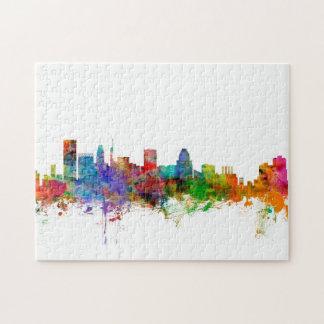 Baltimore Maryland Skyline Jigsaw Puzzle