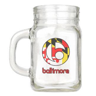 Baltimore Mason Jar