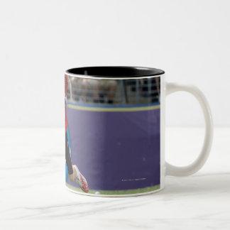 BALTIMORE, MD - MAY 30: Goalie Adam Ghitelman #8 Two-Tone Coffee Mug