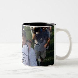 BALTIMORE, MD - MAY 30:  Head coach Dom Starsia Two-Tone Coffee Mug