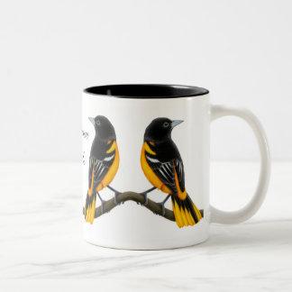 Baltimore Orioles Wild Birds Mug