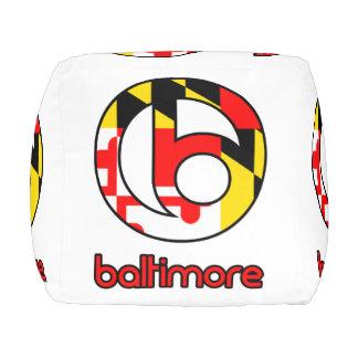 Baltimore Pouf