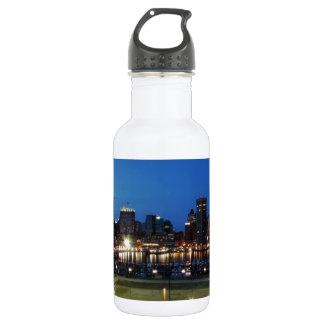 Baltimore Skyline at Dusk 532 Ml Water Bottle