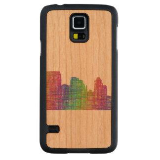 Baltimore skyline cherry galaxy s5 case
