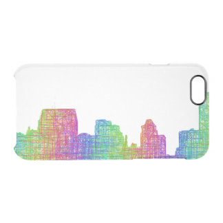 Baltimore skyline clear iPhone 6/6S case
