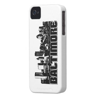 Baltimore Skyline iPhone 4 Cover