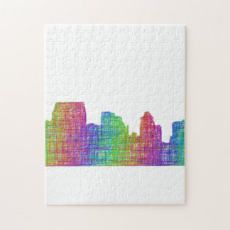 Baltimore skyline jigsaw puzzle