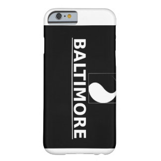 Baltimore Ying-Yang iPhone 6 Barely There iPhone 6 Case