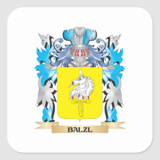 Balzl Coat of Arms Square Sticker
