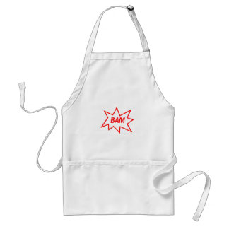Bam Red Standard Apron