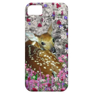 Bambina the Fawn in Flowers II Case For The iPhone 5