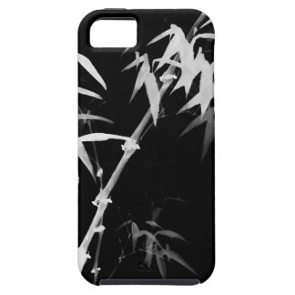 Bamboo Stalks Black-and-White l Oriental Zen Touch iPhone 5 Cover
