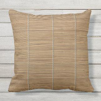 """Bamboo Throw Pillow 20"""" x 20"""""""