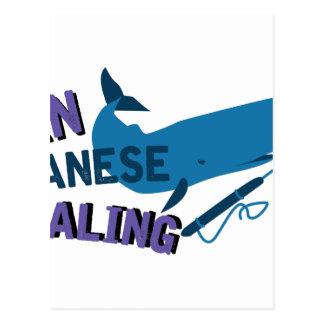 Ban Whaling Postcard