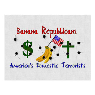 Banana Republicans Post Card