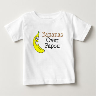 Bananas Over Papou Baby T-Shirt