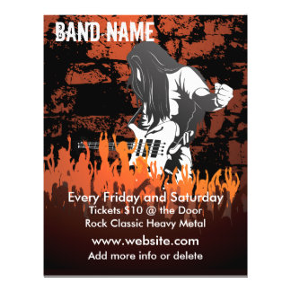 Band Concert Music Flyer