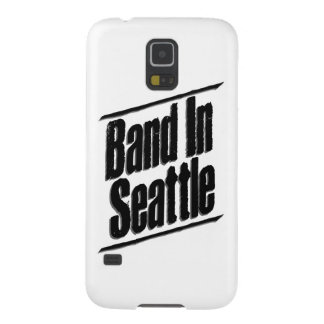 Band In Seattle Logo Case For Galaxy S5