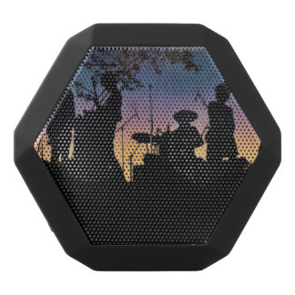 Band Playing in the Sunset Bluetooth Speaker Black Boombot Rex Bluetooth Speaker