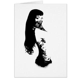 bandana girl card