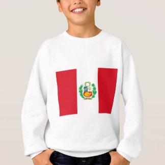 Bandera del Perú - Flag of Peru Sweatshirt