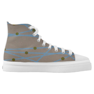 Bands and Bands Printed Shoes