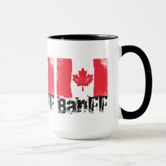 Banff Grunge Flag Mug