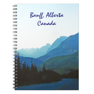 Banff Jasper Blue Notebooks