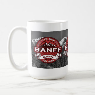 Banff Mug Red