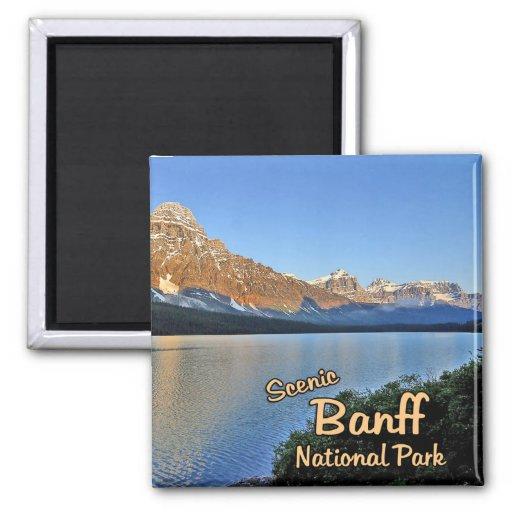 Banff National Park Refrigerator Magnets
