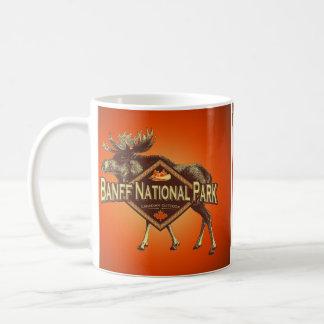 Banff National Park Moose Coffee Mug