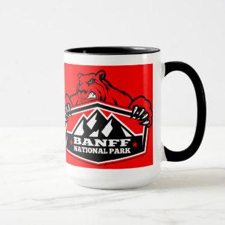 Banff National Park Red Bear Mug