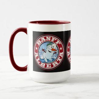 Banff Snowman Circle Mug