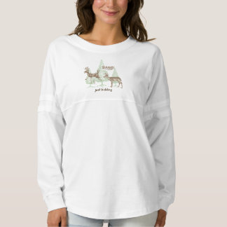 Bang! Just Kidding! Hunting Humor Spirit Jersey