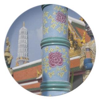 Bangkok, Thailand. Bangkok's Grand Palace 2 Plate