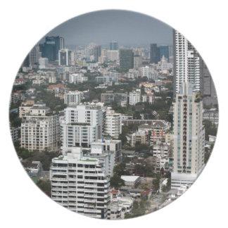 Bangkok Thailand Plate