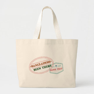 Bangladesh Been There Done That Large Tote Bag
