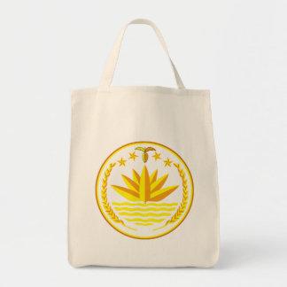 bangladesh emblem tote bag