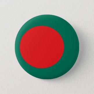 Bangladesh flag 6 cm round badge