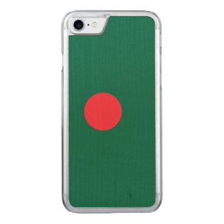 Bangladesh Flag Carved iPhone 8/7 Case