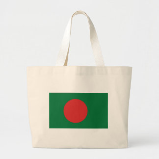Bangladesh Flag Large Tote Bag