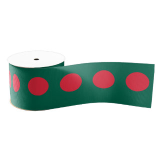Bangladesh Grosgrain Ribbon