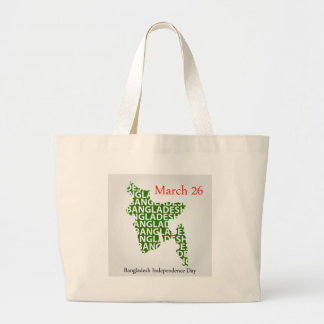Bangladesh Independence day- March 26 Large Tote Bag
