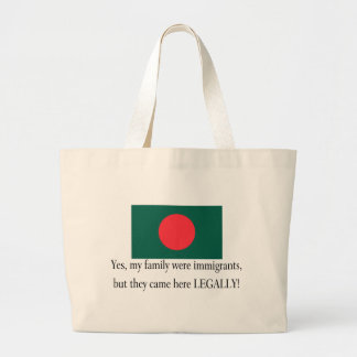 Bangladesh Large Tote Bag