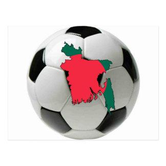 Bangladesh national team postcard