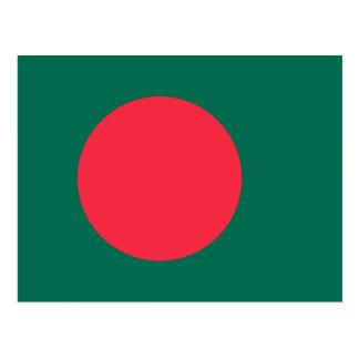 Bangladesh National World Flag Postcard
