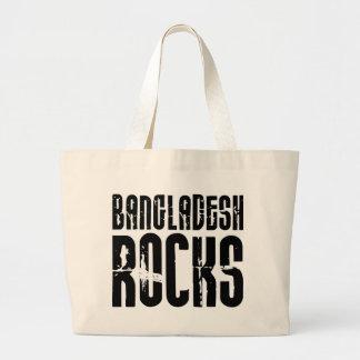 Bangladesh Rocks Large Tote Bag