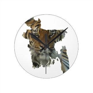 Bangladesh tiger clock/tiger clock