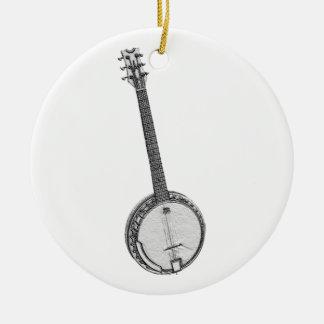 Banjo Christmas Ornament